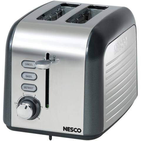 Nesco T1000-13 2-Slice Toaster, Black
