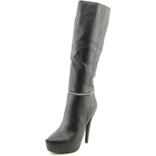 Zigi Soho Enzy Pointed Toe Synthetic Knee High Boot