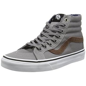 Vans Unisex Sk8-Hi Reissue (Cord & Plaid) Frost Gray Skate Shoe 10.5 Men US /...