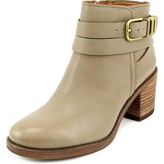 Lucky Brand Raisa Women Round Toe Leather Ankle Boot
