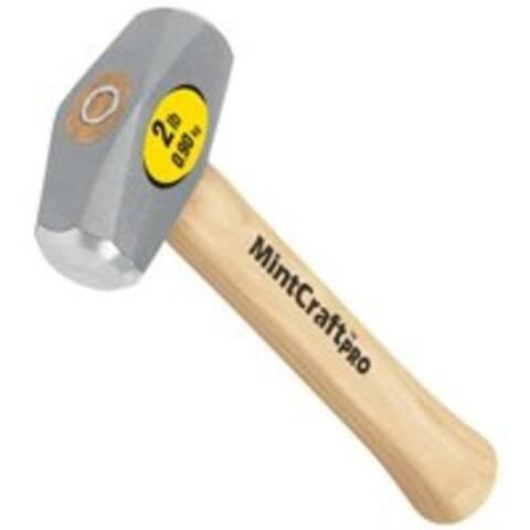 Mintcraft 33704 Drilling Hammer 2 lbs, Wood Handle