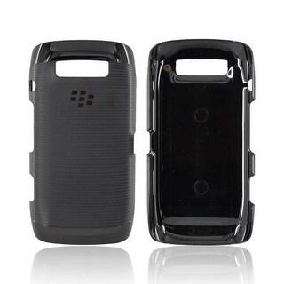 OEM Blackberry Rubber Hardshell Case for Torch 9850, 9860 (Black)