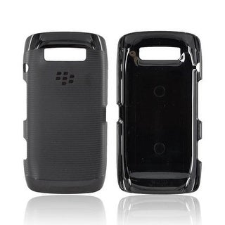 OEM Blackberry Rubber Hardshell with Skin for Blackberry Torch 9850/9860 (Black)