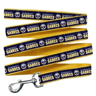Buffalo Sabres Pet Leash by Pets First - Large