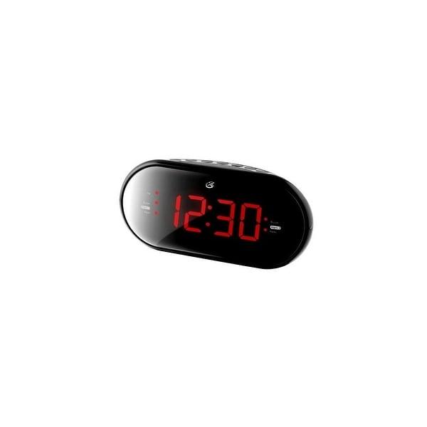 GPX GPXC253BB Gpx C253b Dual Alarm Clock Radio