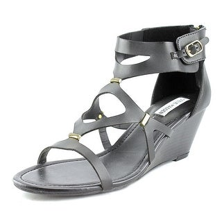 Steve Madden Lida Open Toe Synthetic Wedge Sandal