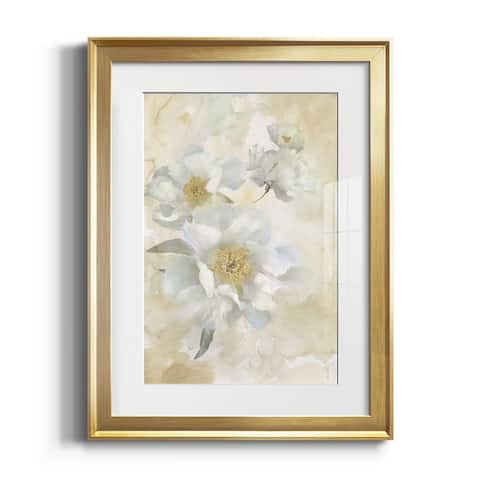 Soft Peonies I Premium Framed Print - Ready to Hang