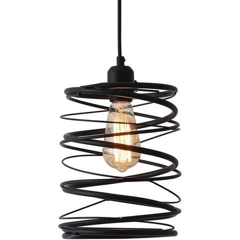 Spiral pendant lights for kitchen farmhouse edison pendant lighting