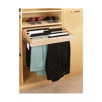 Rev-A-Shelf CWPR-2414-1 CWPR Series 24 Inch Pant Rack with Full-Extension Slides