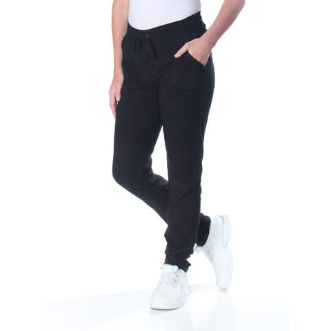 HIPPIE ROSE Womens Black Ruched Jogger Pants Juniors Size: S