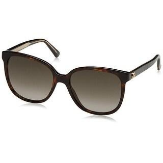 GG3815/S Women's Round Sunglasses