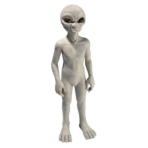 Design Toscano The Out-of-this-World Alien Extra Terrestrial Statue: Large