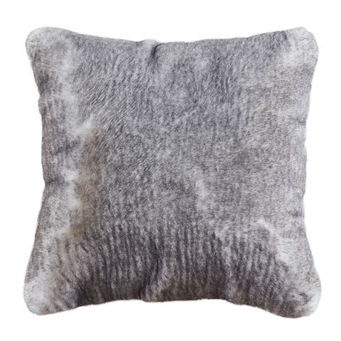 Amore Shag Collection Polyester Pillow, 20 x 20
