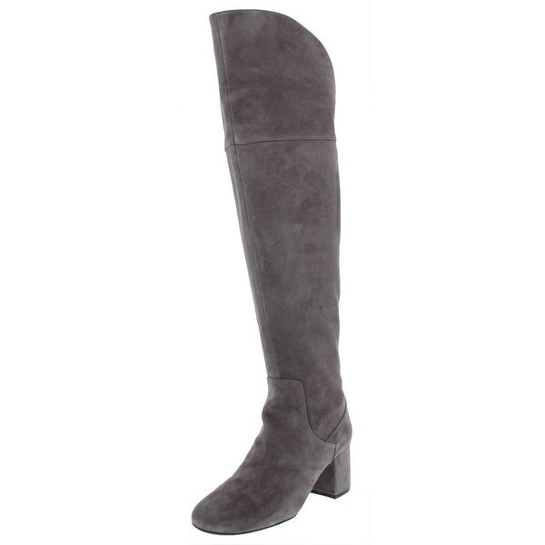 fee32c6f75a Shop Cole Haan Womens Raina Grand II Over-The-Knee Boots Suede Block ...