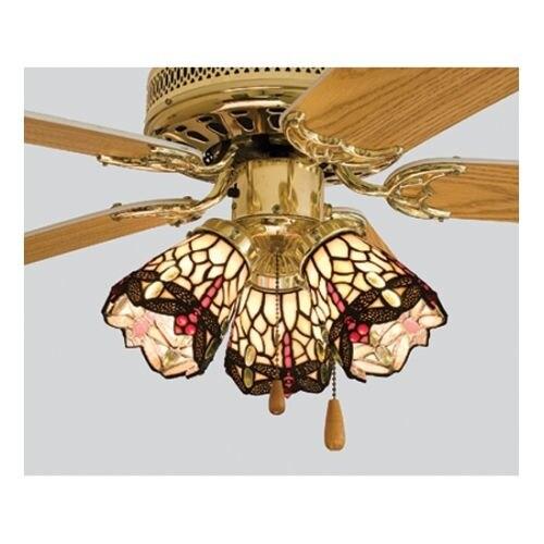 Meyda Tiffany 99245 Tiffany Dragonfly Fanlight Shade