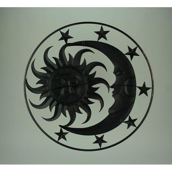 Metal Celestial Sun Moon And Stars