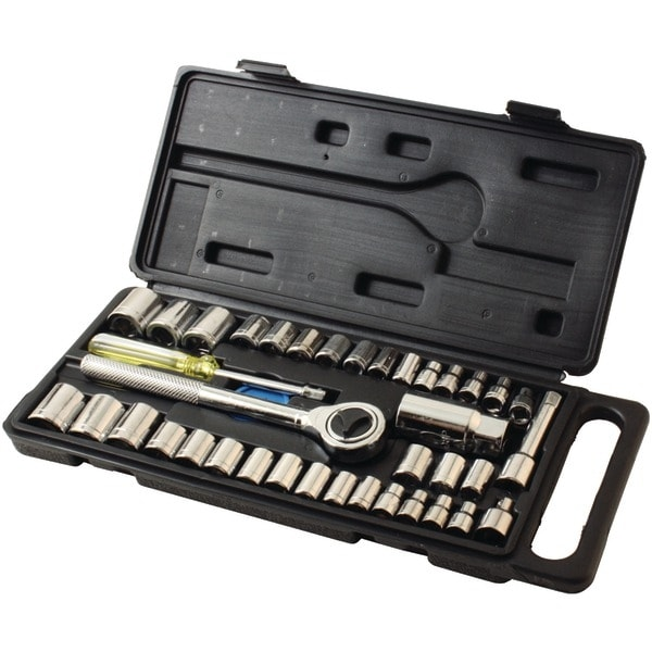 Hb Smith Tools 79940 40-Piece Drop-Forged Socket Set