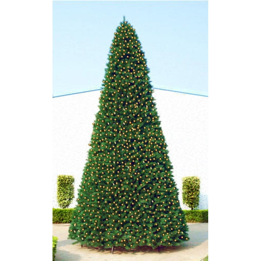 Commercial Christmas Tree.20 Giant Pre Lit Everest Fir Commercial Christmas Tree Warm White Led Lights