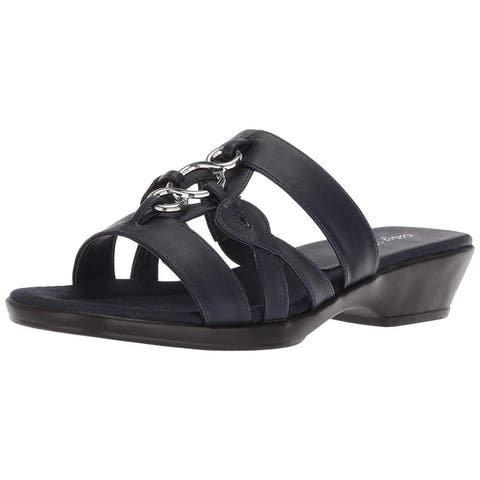 6a9a2a779 Easy Street Womens Torrid Open Toe Casual Slide Sandals