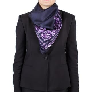Versace Women's Spotted Floral Pattern Silk Scarf|https://ak1.ostkcdn.com/images/products/is/images/direct/bbfae474fa610d116fb069dd2de789a192ea201a/Versace-Women%27s-Spotted-Floral-Pattern-Silk-Scarf.jpg?impolicy=medium