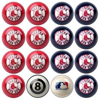 MLB Boston Red Sox Baseball Billiard Balls Complete Set of 16 Balls