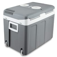 Della 40 Quart Portable 12V Electric Cooler/Warmer Thermoelectric Travel Camping RV w/ Wheels