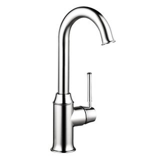 Hansgrohe 4217 Talis C High-Arc Bar Faucet with Quick Cleaning Aerator - Includes Lifetime Warranty