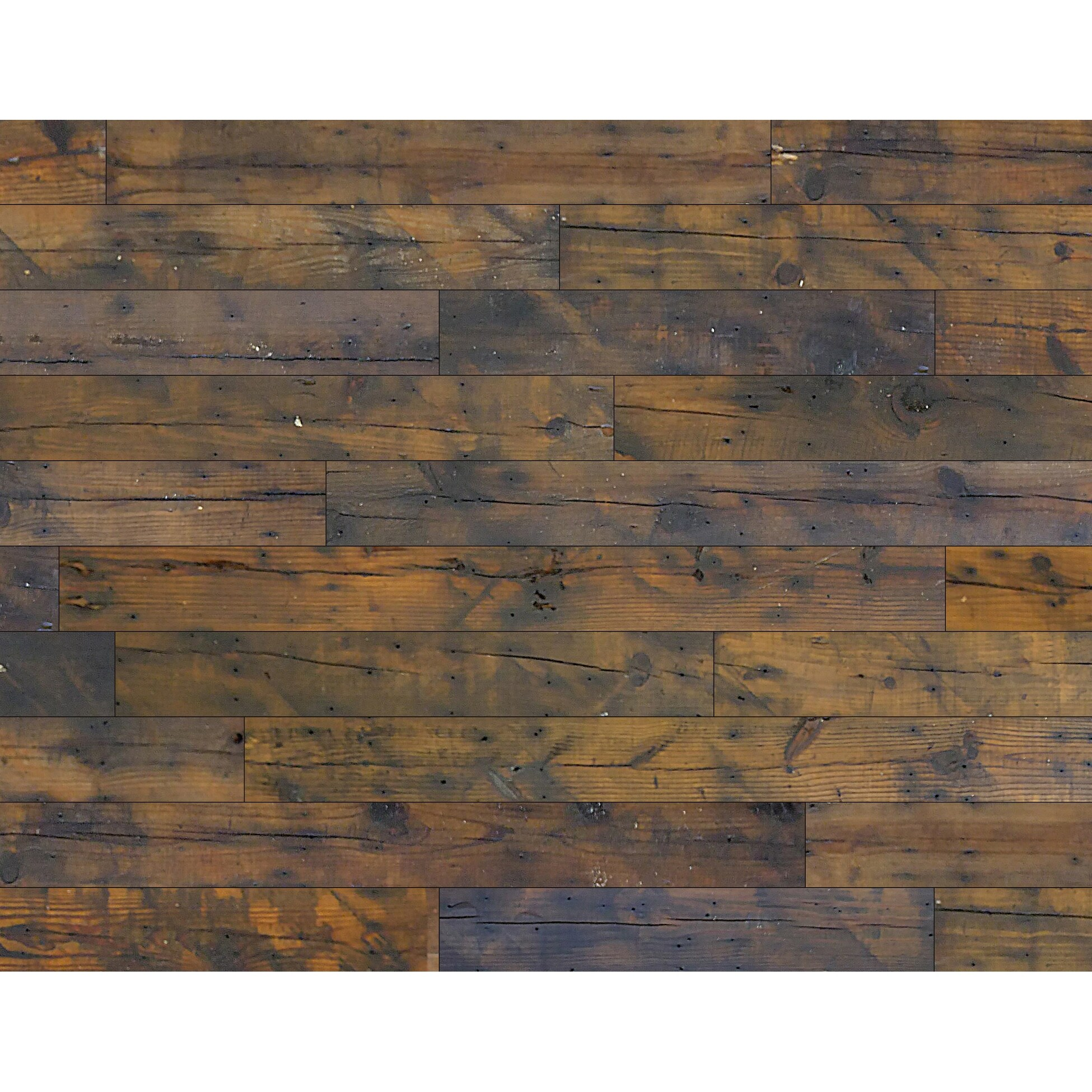 Shop Black Friday Deals On Novogratz Reclaimed Barn Wood Wall Panels Diy 13 3 Sq Ft Of 5 1 Wide Panels Overstock 31961286