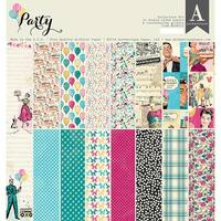 """Authentique Collection Kit 12""""X12""""-Party"""
