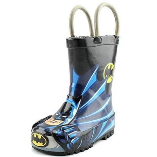 Western Chief Batman Everlasting Round Toe Synthetic Rain Boot