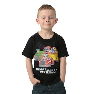 Paw Patrol Ready Set Roll Boys T-Shirt