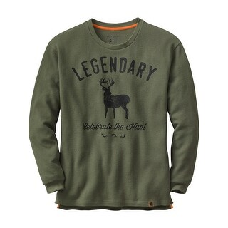 Legendary Whitetails Mens Hunters Escape Thermal Crew