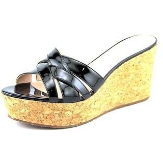 Kate Spade Talcott Open Toe Synthetic Wedge Sandal