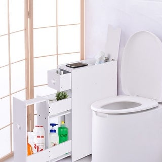narrow bathroom floor cabinet buy bathroom cabinets amp storage at overstock 19691