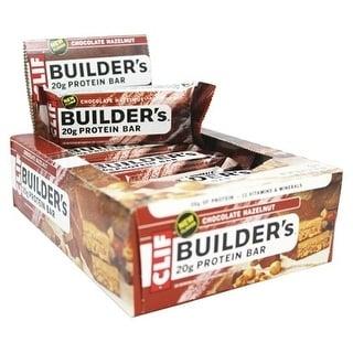 Clif Builder Bar Chocolate Hazelnut (Box of 12)