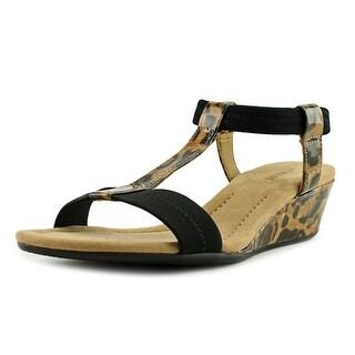 Alfani Womens Voyagenw Open Toe Casual Ankle Strap Sandals - new leopard