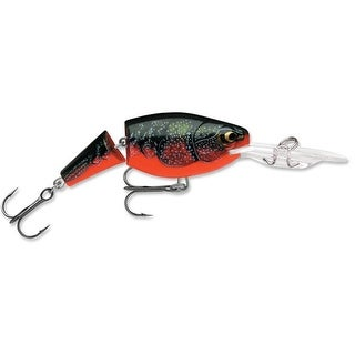 Rapala Jointed Shad Rap 04 Fishing Lure - Red Crawdad - red crawdad