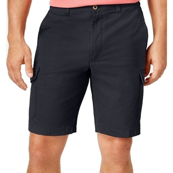 c8937caaa2d5 Shop Club Room Mens Classic Fit Flat Front Cargo Shorts - On Sale - Free  Shipping On Orders Over  45 - Overstock - 26907072