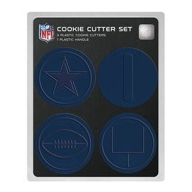 Dallas Cowboys Cookie Cutters Set of 3