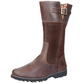 Timberland Girls Maplebrook Riding Boots Leather