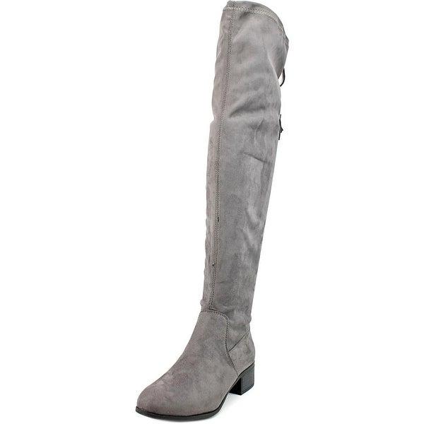 Madden Girl Prissley Women Grey Boots