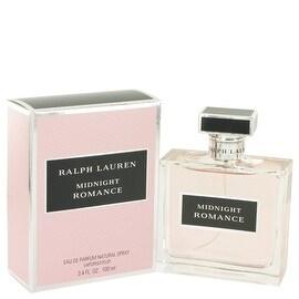 Eau De Parfum Spray 3.4 oz Midnight Romance by Ralph Lauren - Women