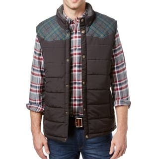 Weatherproof NEW Black Green Mens Size Big 2X Plaid Vest Jacket|https://ak1.ostkcdn.com/images/products/is/images/direct/bc05dd172775318d2c58c542c584279d0514f44f/Weatherproof-NEW-Black-Green-Mens-Size-Big-2X-Plaid-Vest-Jacket.jpg?impolicy=medium
