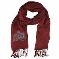 Colorado Avalanche Pashi Fan Scarf - Dark Red