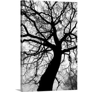 """""""Black tree I"""" Canvas Wall Art"""