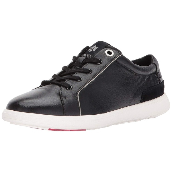 Foot Petals Womens Andi Low Top Lace Up Fashion Sneakers