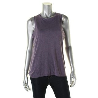 Lauren Ralph Lauren Womens Tank Top Silk Knit