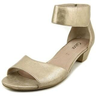 Gabor 25.850 Open Toe Leather Wedge Sandal