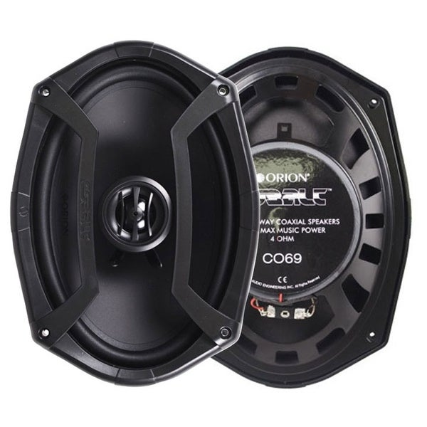 "Orion CO69 6x9"" 2-Way Cobalt Series Coaxial Car Speakers"