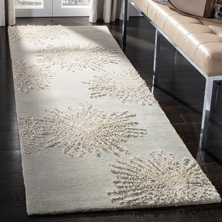 Link to Safavieh Handmade Soho Burst New Zealand Wool Rug Similar Items in As Is